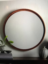 West Elm Floating Mirror in Acorn Chicago, 60654