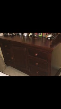 REDUCED***Real cherry wood dresser Sterling, 20166