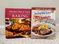 Cook Books: Favorite Brand Names baking/weeknights Sterling, 20166