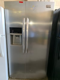 New scratch and dent Frigidaire 36in sid evy side doors fridge Baltimore, 21223