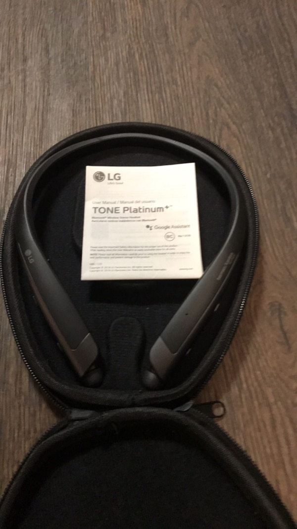 e55e849df54 $199 New at Best Buy - Bluetooth LG Headphones Tone Platinum+ with Google  Assistant