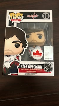 Alexander Ovechkin POP Vinyl Figure Exclusive Washington Capitals Stanley cup champion MVP Vancouver, V5R 6E5