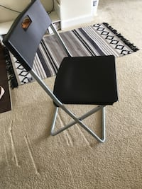 black and gray folding table Arlington, 22204