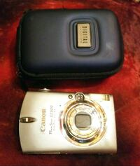 Canon Digital Cameras with cases