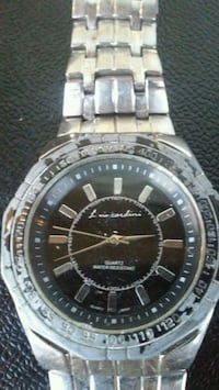 round silver-colored analog watch with link bracelet Albuquerque, 87108