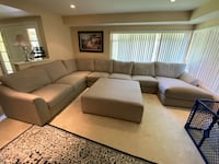 Large grand sectional ( 5 year warranty included)  Fullerton, 92835