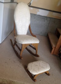Antique Kids Rocking Chair & Ottoman.   Calgary