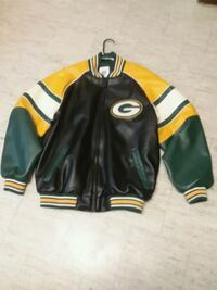 Packers bundle. Leather jacket,  Minot, 58701