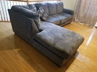 Gray Sectional Sofa Bowie