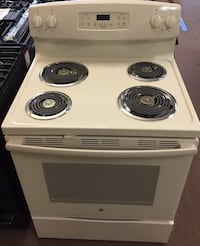 "BE 30"" 5.3 cu ft electric range /Bisque Richland, 39218"