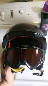 Marker helmet with goggles. Size L.