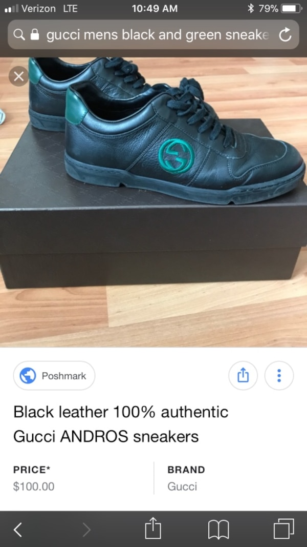 173eb51b54b Used Authentic Gucci Men s Andros Sneakers for sale in Scottsdale - letgo