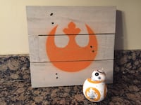 Star Wars reclaimed wood sign Wheaton, 60189