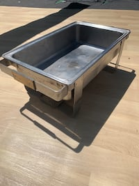 Stainless steel Square Food Warmers Food