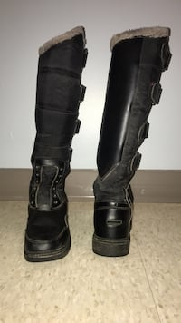 Equestrian tall winter riding boots