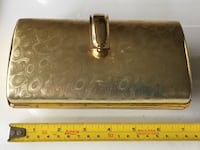 Gold evening clutch purse Toronto, M5J