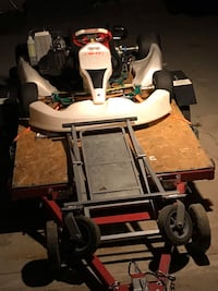 tonys kart is made from Italy with rotax engine modification San Fernando, 91344