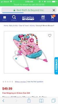 Baby's pink and blue bouncer Columbus, 31907