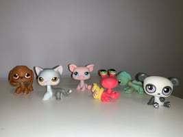 Littlest Pet Shop Monopoly Lot- Set of 6