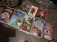 VHS movie cases