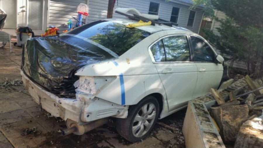 For sale honda accord 2009 4 cilender  for parts  7486123a-1977-4c1d-831d-8ce6563986c9