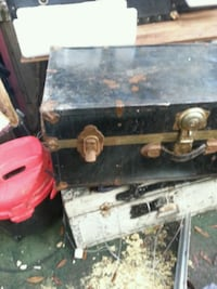 black and brown wooden chest box Panama City, 32404