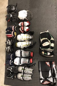 hockey gear (roller and ice)