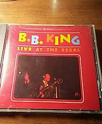 B.B.KING ~Live At The Regal} West Fargo