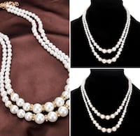 Pearl necklace new Houston, 77066