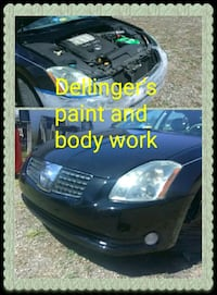 Paint and body work Greenville, 24440