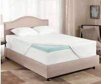 Novaform ComfortLuxe Gel Memory Foam Mattress Topper. San Jose, 95129