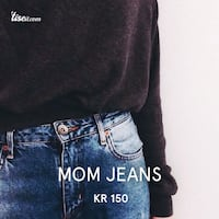 Mom jeans Oslo, 1181
