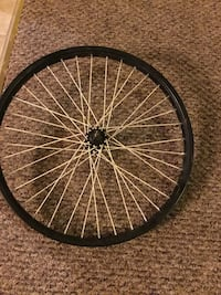 20inch Black front bmx wheel ,great condition Joplin, 64801