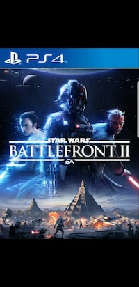 Sony PS4 Star Wars Battlefront 2 game