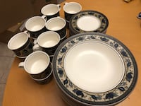Mikasa Dishes. Tea cups & plates and bowls.  Coquitlam, V3E 2S6