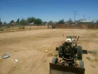 weed scraping and leveling of yard with tractor Apple Valley, 92307