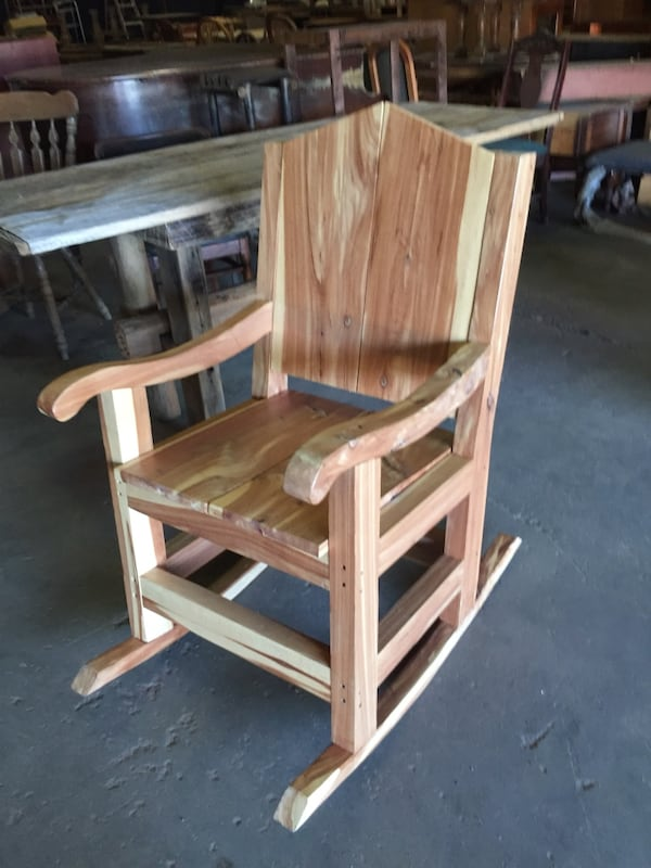 Handcrafted live wood furniture 1