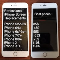 iPhone screen repair Monroe