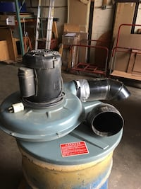 Delta industrial three phase 50-180 ,55 gallon drum top dust collectors.  With bags and drums Bohemia, 11716