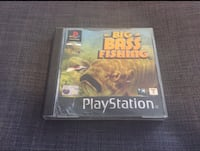 "Gioco PS1 ""Big Bass Fishing"" PlayStation One Viareggio, 55049"