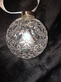 Waterford star of hope 2000 ornament.