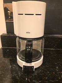 New white coffee machine brand BRAUN  Montgomery Village, 20886
