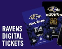 Tickets for Ravens vs Rams 8/9 6th row!! Frederick, 21704