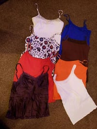 Camis, tanks, size med to XL,  see description