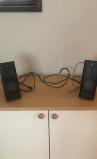 Logitech desktop speakers (aux stereo) Falls Church, 22046