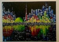 40x30 inches Handpainted Toronto acrylic painting  Vaughan, L4L 1X3