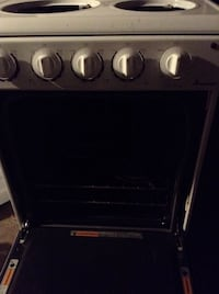 black and gray electric coil range oven Birmingham, 35214