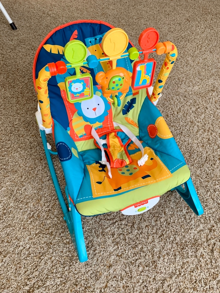 Photo Fisher-Price Infant-to-Toddler Rocker