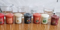 4 Sets Matching Votives and Yankee Candles Phoenixville, 19460
