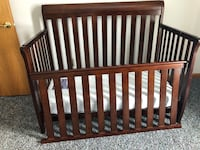 Solid wood crib Mc Kean, 16426